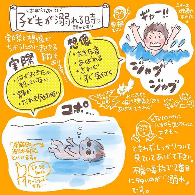本能的溺水反応
