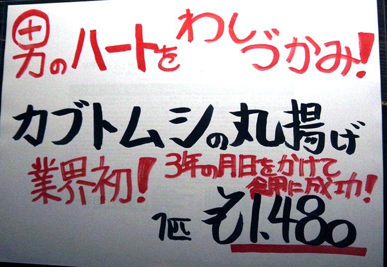 カブトムシ1匹1480円