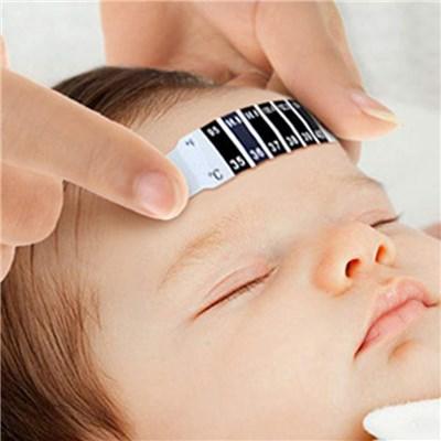 赤ちゃん額温度計ステッカー温度チェックストリップ